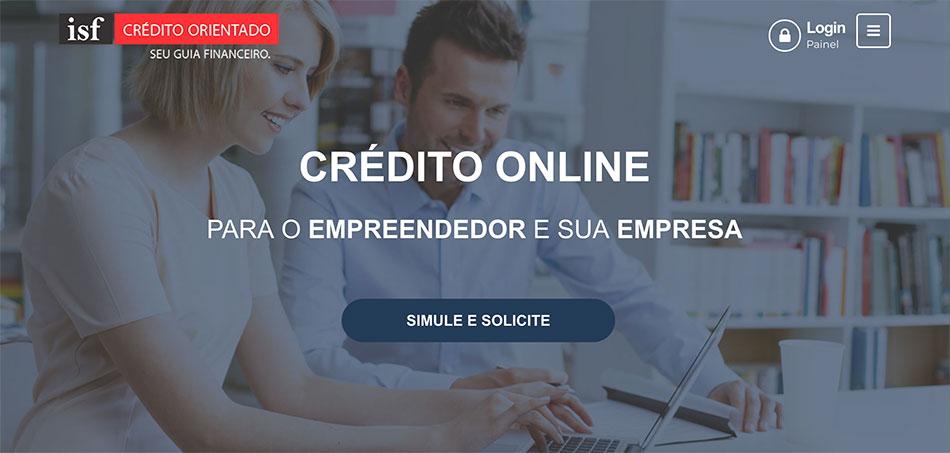 Novo portal ISF Crédito Orientado